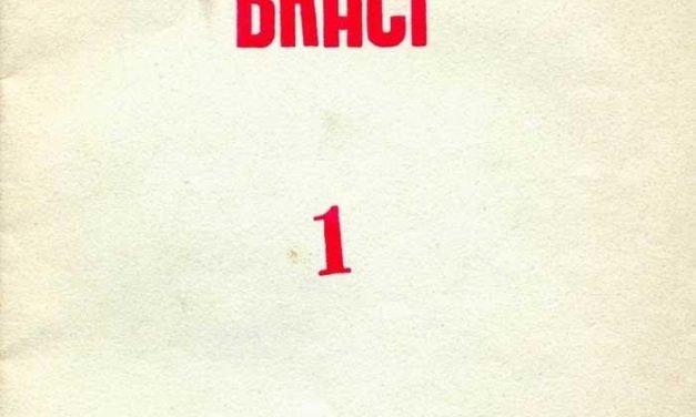 Braci, numero 1, anno I, novembre 1980