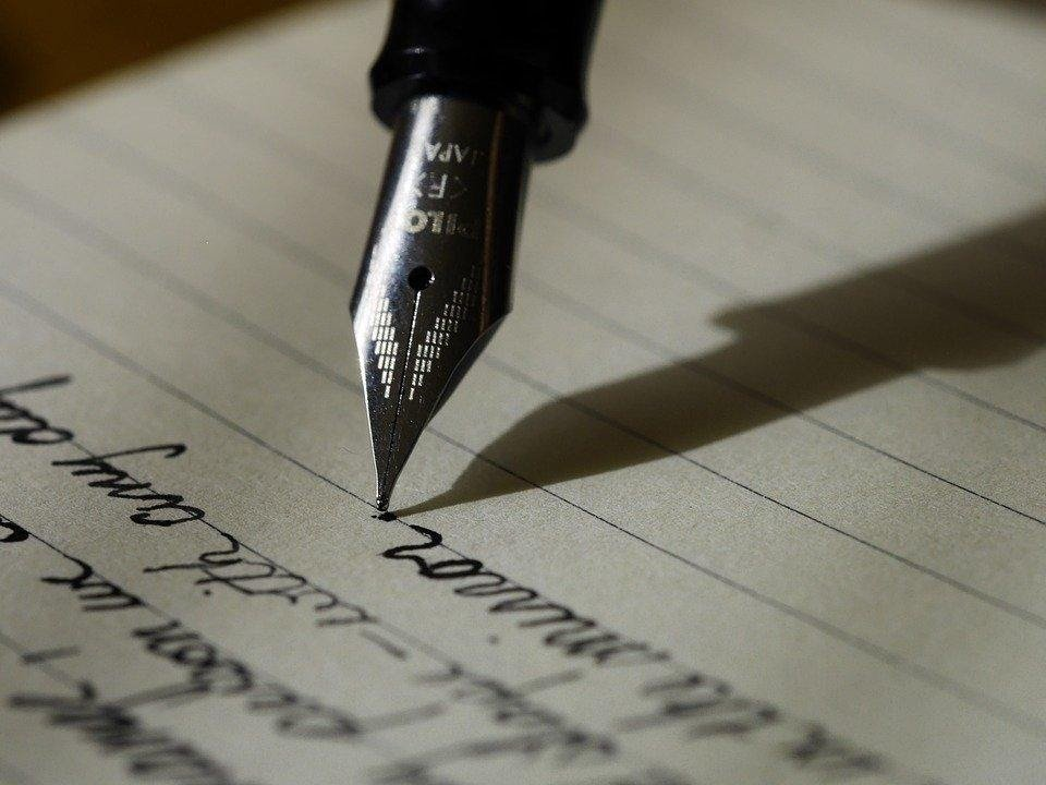 Scrittura, Scrivere, Penna Stilografica, Inchiostro